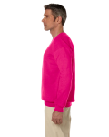 Heliconia 7.75 oz. Heavy Blend™ 50/50 Fleece Crew as seen from the sleeveright