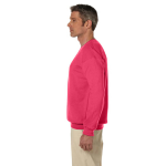 Paprika 7.75 oz. Heavy Blend™ 50/50 Fleece Crew as seen from the sleeveright