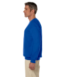 Royal 7.75 oz. Heavy Blend™ 50/50 Fleece Crew as seen from the sleeveright