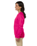 Heliconia Heavy Blend™ Ladies' 8 oz., 50/50 Fleece Crew as seen from the sleeveright