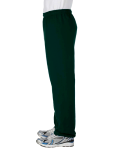 Forest Green Heavy Blend™ 8 oz., 50/50 Sweatpants as seen from the sleeveright