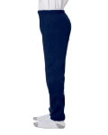 Navy Heavy Blend™ Youth 8 oz., 50/50 Sweatpants as seen from the sleeveright