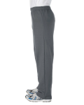 Charcoal Heavy Blend™ 8 oz., 50/50 Open-Bottom Sweatpants as seen from the sleeveright