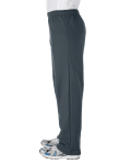 Dark Heather Heavy Blend™ 8 oz., 50/50 Open-Bottom Sweatpants as seen from the sleeveright