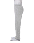 Sport Grey Heavy Blend™ Youth 8 oz., 50/50 Open-Bottom Sweatpants as seen from the sleeveright