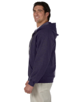 Blackberry Heavy Blend™ 8 oz. Vintage Classic Full-Zip Hood as seen from the sleeveright