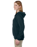 Midnight Heavy Blend™ Ladies' 8 oz. Vintage Classic Missy Fit Full-Zip Hood as seen from the sleeveright