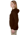 Russet Heavy Blend™ Ladies' 8 oz. Vintage Classic Missy Fit Full-Zip Hood as seen from the sleeveright