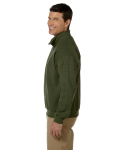 Moss Heavy Blend™ 8 oz. Vintage Classic Quarter-Zip Cadet Collar Sweatshirt as seen from the sleeveright