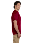 Antque Cherry Red Premium Ultra Cotton T as seen from the sleeveright
