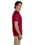 Cardinal Red Premium Ultra Cotton T as seen from the sleeveright