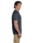 Charcoal Premium Ultra Cotton T as seen from the sleeveright