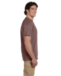 Chestnut Premium Ultra Cotton T as seen from the sleeveright