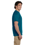 Galapagos Blue Premium Ultra Cotton T as seen from the sleeveright