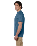 Indigo Blue Premium Ultra Cotton T as seen from the sleeveleft