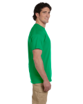 Irish Green Premium Ultra Cotton T as seen from the sleeveright