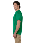 Kelly Green Premium Ultra Cotton T as seen from the sleeveleft