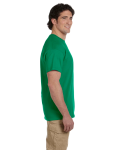 Kelly Green Premium Ultra Cotton T as seen from the sleeveright
