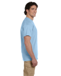 Light Blue Premium Ultra Cotton T as seen from the sleeveright