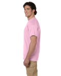 Light Pink Premium Ultra Cotton T as seen from the sleeveleft