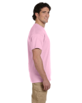 Light Pink Premium Ultra Cotton T as seen from the sleeveright