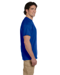 Metro Blue Premium Ultra Cotton T as seen from the sleeveright