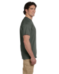 Military Green Premium Ultra Cotton T as seen from the sleeveright