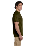 Olive Premium Ultra Cotton T as seen from the sleeveright