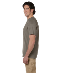 Prairie Dust Premium Ultra Cotton T as seen from the sleeveleft