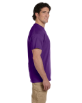 Purple Premium Ultra Cotton T as seen from the sleeveright