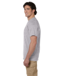 Sport Grey Premium Ultra Cotton T as seen from the sleeveleft