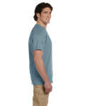 Stone Blue Premium Ultra Cotton T as seen from the sleeveright