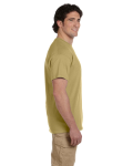 Tan Premium Ultra Cotton T as seen from the sleeveright