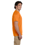Tangerine Premium Ultra Cotton T as seen from the sleeveright