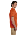 Texas Orange Premium Ultra Cotton T as seen from the sleeveright