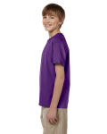 Purple Youth Premium Ultra Cotton T as seen from the sleeveright