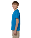 Sapphire Youth Premium Ultra Cotton T as seen from the sleeveright