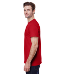 Red Tall Premium Ultra Cotton T as seen from the sleeveright