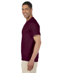 Maroon Premium Ultra Cotton Pocket T as seen from the sleeveright