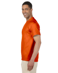 Orange Premium Ultra Cotton Pocket T as seen from the sleeveright