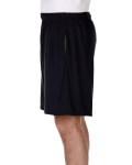 Black Performance™ 5.5 oz. Nine Inch Short with Pockets as seen from the sleeveright