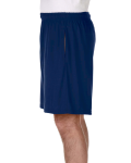 Navy Performance™ 5.5 oz. Nine Inch Short with Pockets as seen from the sleeveright