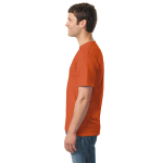 Antique Orange Classic Cotton T as seen from the sleeveright