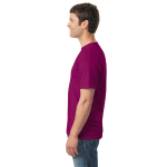 Berry Classic Cotton T as seen from the sleeveright