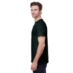 Black Classic Cotton T as seen from the sleeveright