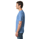 Carolina Blue Classic Cotton T as seen from the sleeveright