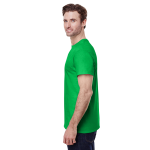 Electric Green Classic Cotton T as seen from the sleeveright