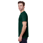 Forest Green Classic Cotton T as seen from the sleeveright