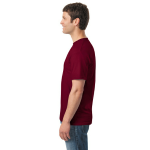 Garnet Classic Cotton T as seen from the sleeveright