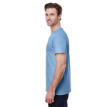 Light Blue Classic Cotton T as seen from the sleeveright